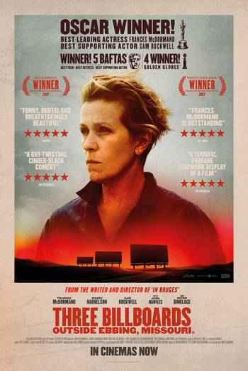 THREE BILLBOARDS OUTSIDE EBBING, MISSOURI <span>(2017)</span> artwork