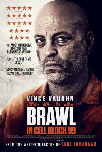 BRAWL IN CELL BLOCK 99 artwork