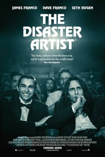THE DISASTER ARTIST artwork