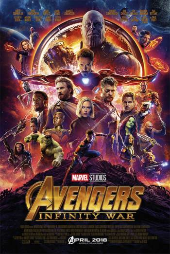 AVENGERS: INFINITY WAR <span>[3D]</span> artwork