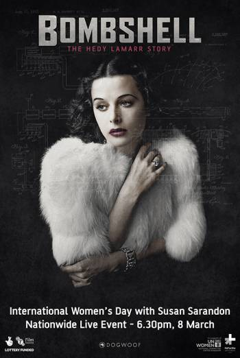 BOMBSHELL: THE HEDY LAMARR STORY artwork