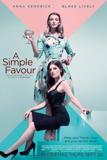 A SIMPLE FAVOUR artwork