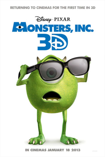MONSTERS, INC. <span>(2001)</span> artwork