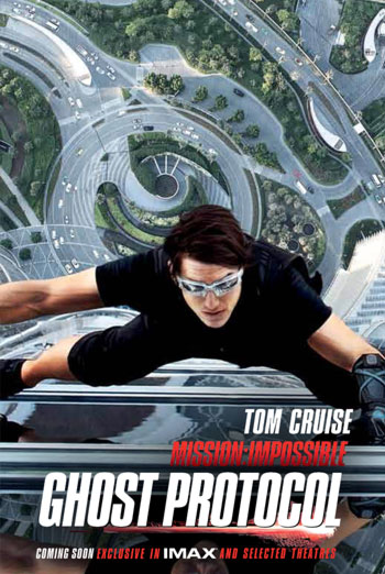 MISSION: IMPOSSIBLE - GHOST PROTOCOL artwork