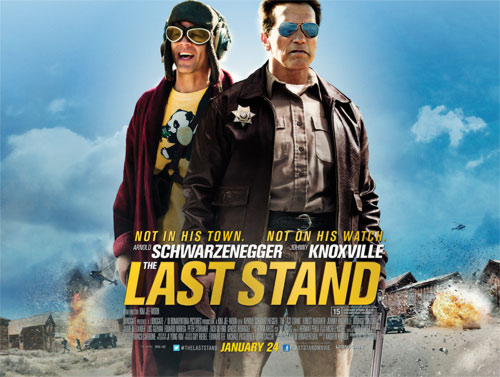 Exclusive Interview With Arnold Schwarzenegger, Johnny Knoxville and Jaimie Alexander