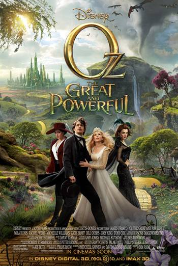 OZ - THE GREAT AND POWERFUL artwork