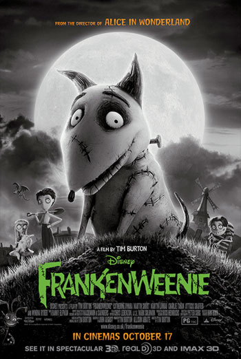 FRANKENWEENIE artwork