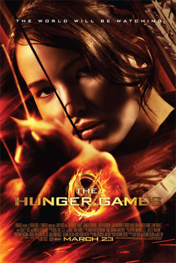 THE HUNGER GAMES artwork