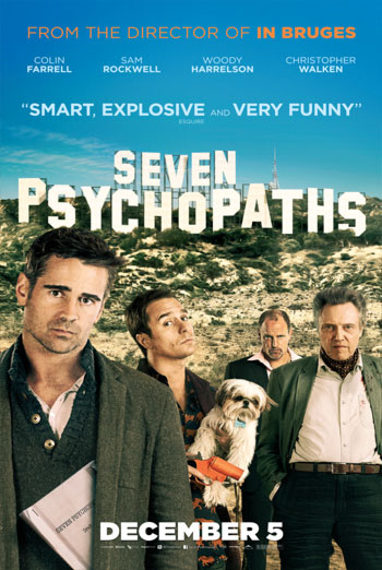 SEVEN PSYCHOPATHS artwork