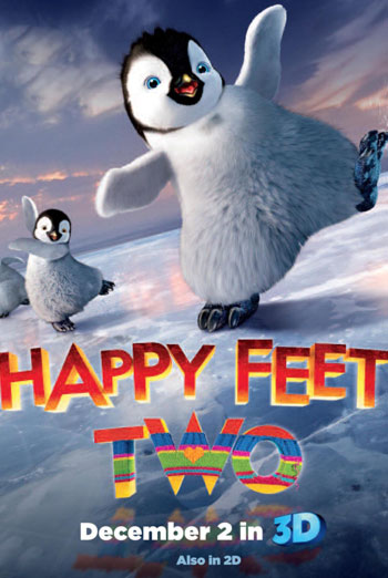 HAPPY FEET TWO <span>[2D,Including short feature I TAWT I TAW A PUDDY TAT]</span> artwork