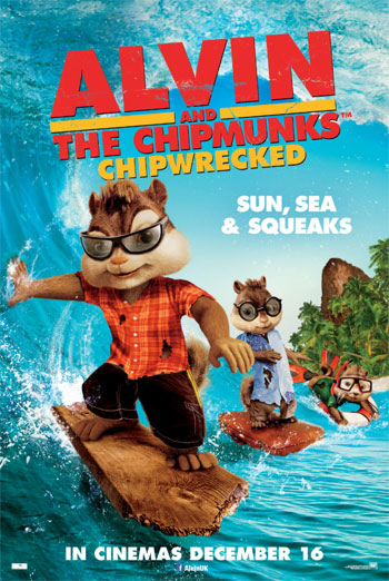 ALVIN AND THE CHIPMUNKS - CHIPWRECKED <span>(2011)</span> artwork