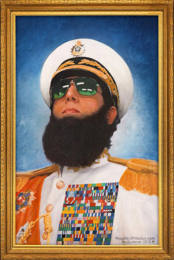 THE DICTATOR <span>[Additional material,Audio description]</span> artwork
