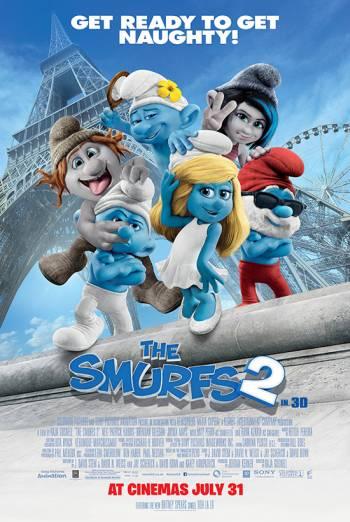 THE SMURFS 2 <span>(2013)</span> artwork