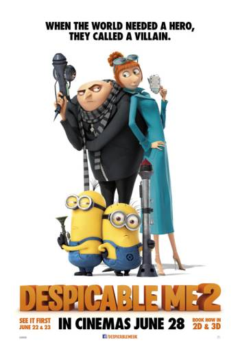 DESPICABLE ME 2 artwork