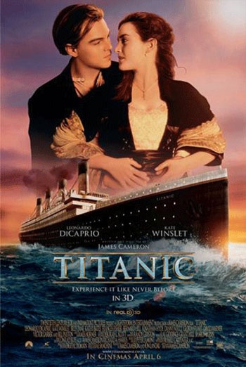 TITANIC <span>[3D - BLU-RAY TRAILER]</span> artwork