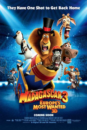 MADAGASCAR 3 - EUROPE'S MOST WANTED <span>(2012)</span> artwork