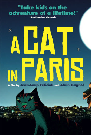 UNE VIE DE CHAT - A CAT IN PARIS artwork