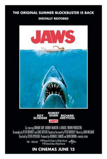 JAWS <span>(1975)</span> artwork