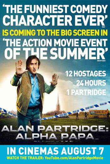 ALAN PARTRIDGE: ALPHA PAPA artwork