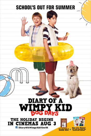 DIARY OF A WIMPY KID - DOG DAYS <span>[Additional material,Director's audio commentary]</span> artwork
