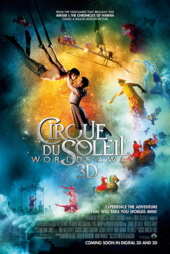 CIRQUE DU SOLEIL - WORLDS AWAY <span>(2012)</span> artwork