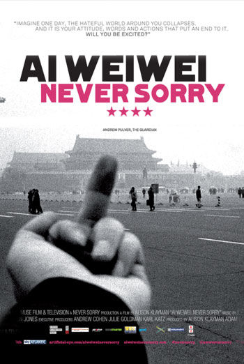 AI WEIWEI - NEVER SORRY <span>(2012)</span> artwork