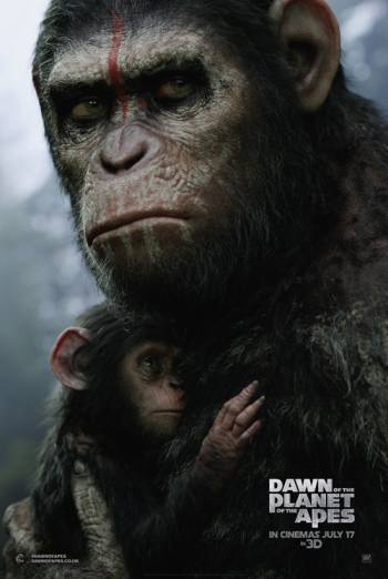 DAWN OF THE PLANET OF THE APES <span>[Additional material,Audio description]</span> artwork