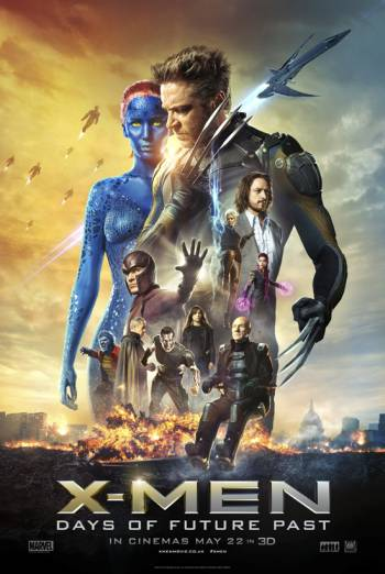X MEN: DAYS OF FUTURE PAST <span>[Additional material,Audio commentary,Rogue Cut]</span> artwork