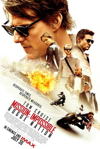 MISSION: IMPOSSIBLE - ROGUE NATION - DVDIZED TRAILER artwork