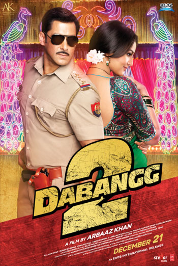 DABANGG 2 artwork