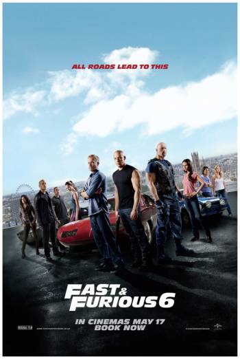 FAST & FURIOUS 6 artwork