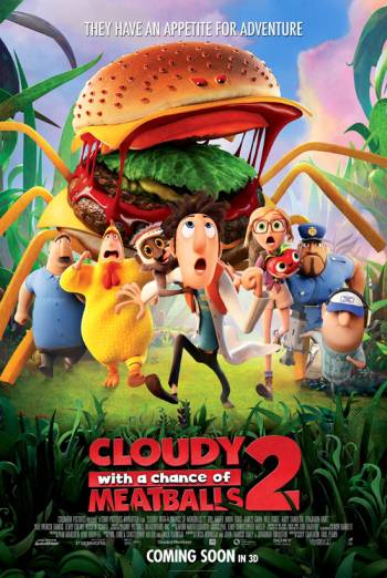 CLOUDY WITH A CHANCE OF MEATBALLS 2 <span>[2D]</span> artwork