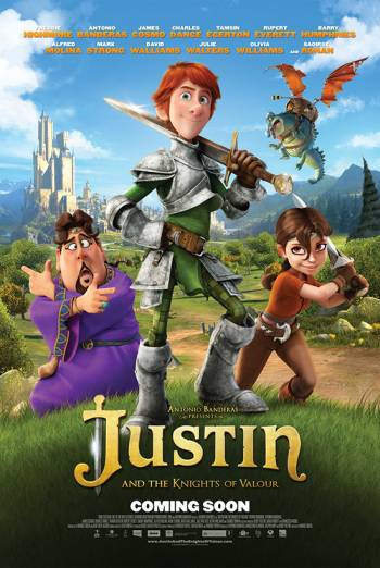 JUSTIN AND THE KNIGHTS OF VALOUR <span>(2013)</span> artwork