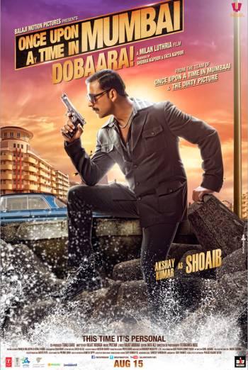 ONCE UPON AY TIME IN MUMBAI – DOBAARA! artwork