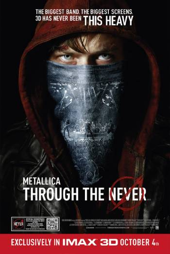 METALLICA: THROUGH THE NEVER <span>[3D]</span> artwork
