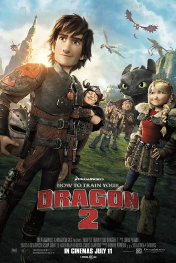 HOW TO TRAIN YOUR DRAGON 2 - ODEON CONCESSIONS TRAILER artwork