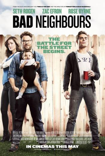 BAD NEIGHBOURS artwork