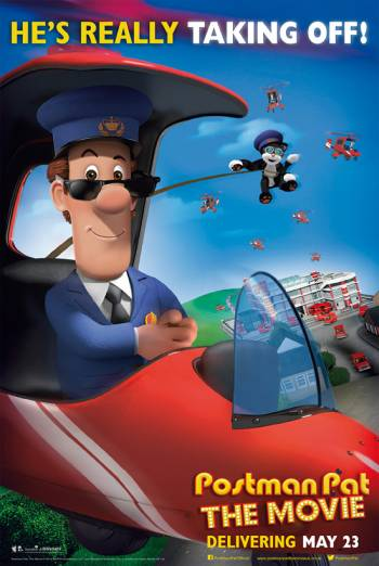 POSTMAN PAT THE MOVIE artwork