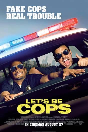 LET'S BE COPS artwork