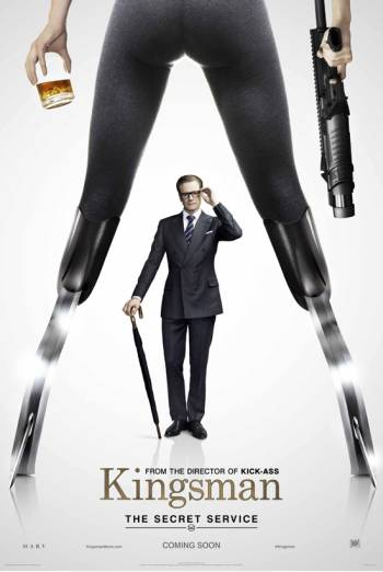 KINGSMAN: THE SECRET SERVICE artwork