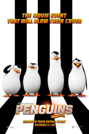 PENGUINS OF MADAGASCAR <span>(2014)</span> artwork