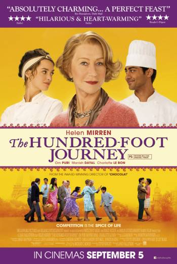 THE HUNDRED-FOOT JOURNEY artwork