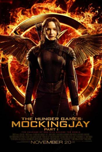 THE HUNGER GAMES: MOCKINGJAY - PART 1 artwork