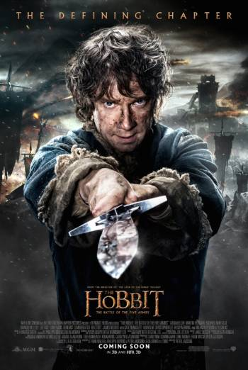 THE HOBBIT: THE BATTLE OF THE FIVE ARMIES artwork