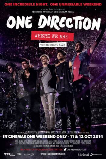 ONE DIRECTION: WHERE WE ARE - THE CONCERT FILM artwork