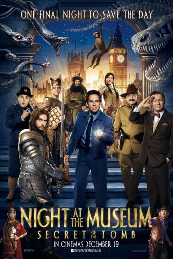 NIGHT AT THE MUSEUM: SECRET OF THE TOMB artwork