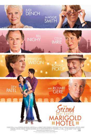 THE SECOND BEST EXOTIC MARIGOLD HOTEL <span>(2015)</span> artwork