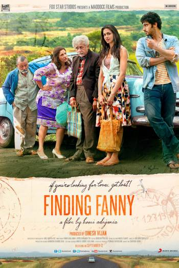FINDING FANNY artwork