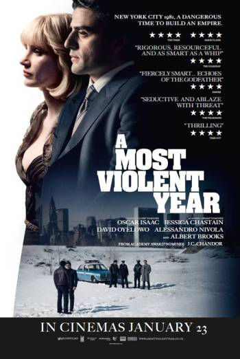 A MOST VIOLENT YEAR artwork