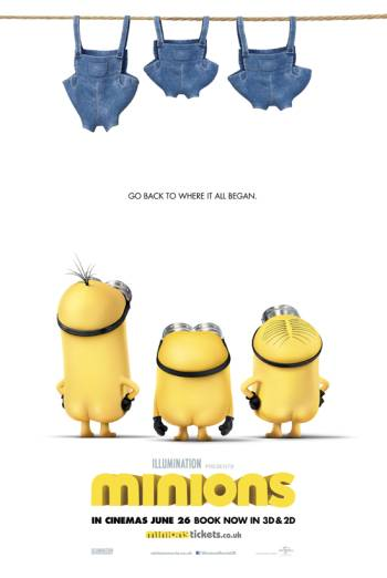 MINIONS <span>[2D,Odeon Xmas Ident]</span> artwork